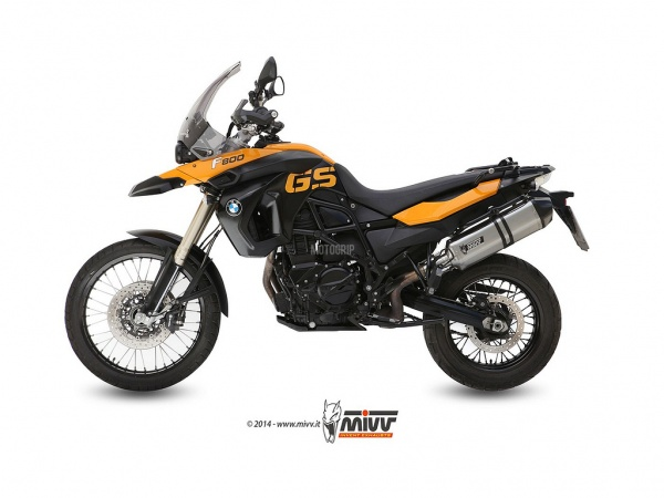 MIVV BMW Auspuff Speed Edge F 650 GS ab 2008