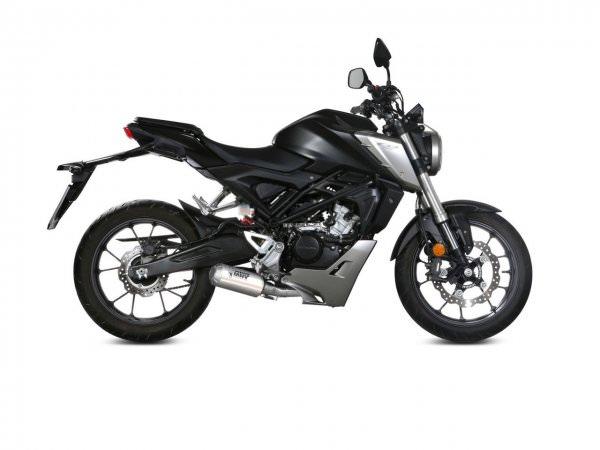 Honda CB 125 R Auspuff MIVV 2018-2020