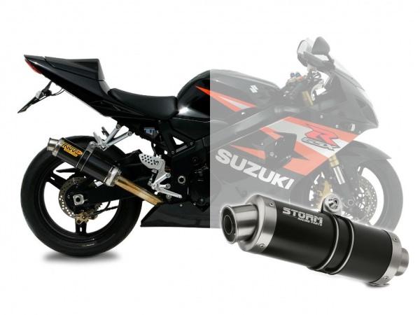 STORM GP Schwarz Suzuki GSX-R 600 Auspuff 2004 bis 2005