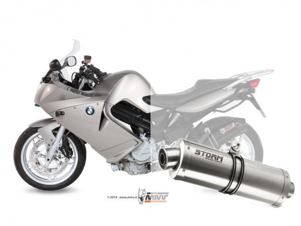 STORM Oval BMW F 800 S / ST Auspuff 2006 bis 2012