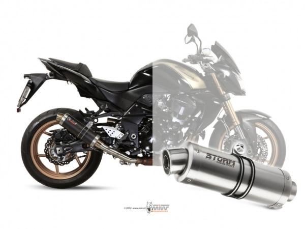 STORM GP Kawasaki Z 750 R Auspuff 2011 bis 2014