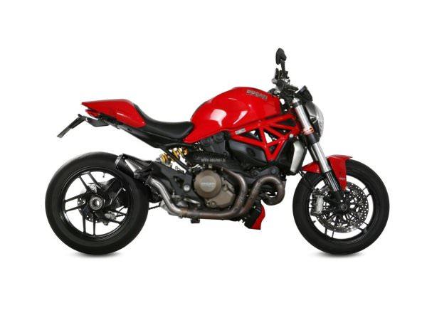 MIVV Ducati MONSTER 821 Auspuff MK3 2014 bis 2017