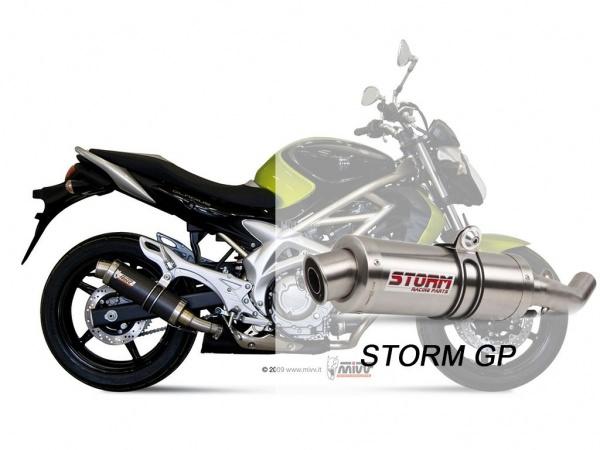 STORM GP Suzuki GLADIUS Auspuff 2009 bis 2015