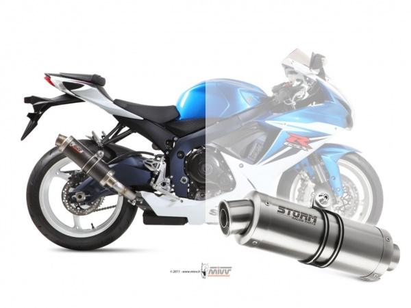 STORM GP Suzuki GSX-R 600 Auspuff 2011 bis 2016