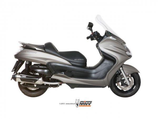 MIVV Yamaha MAJESTY 400 Auspuff URBAN Komplettanlage 2007 bis 2014