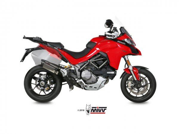 MIVV Ducati MULTISTRADA 1200 Auspuff Suono 2015 bis 2017