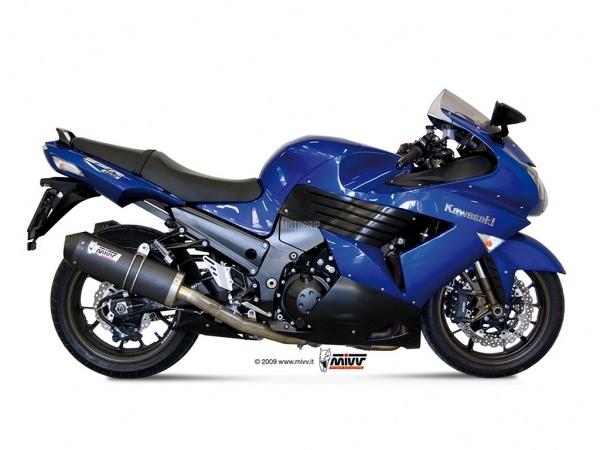 MIVV Kawasaki Auspuff Oval ZZR 1400 ab 2006 bis 2007