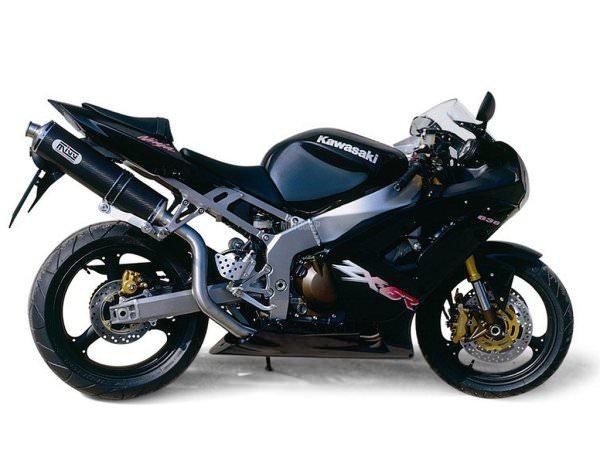 MIVV Kawasaki Auspuff Oval Highup ZX-6 R 636 ab 2003 bis 2004