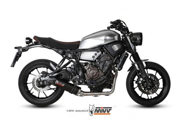 XSR 700 Yamaha Auspuff