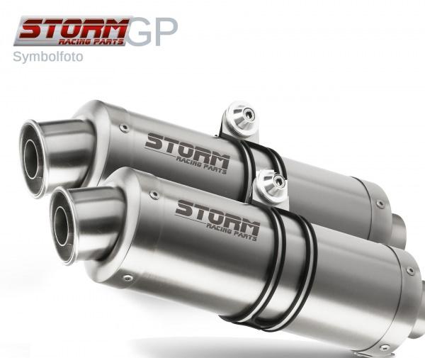 STORM GP Ducati MONSTER 1100 Auspuff 2008 bis 2010