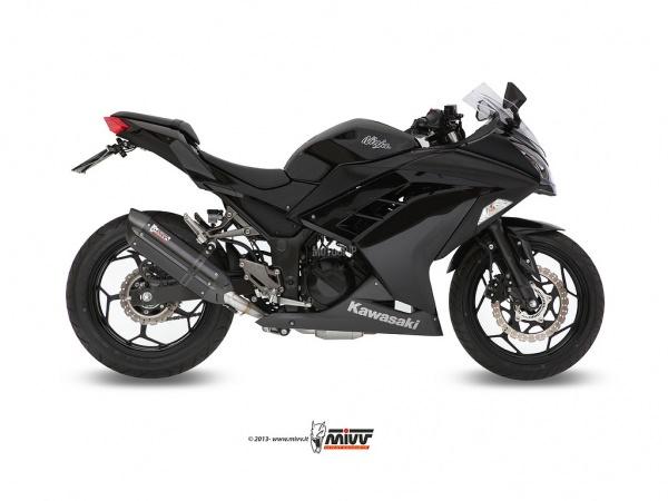 MIVV Kawasaki Auspuff Suono NINJA 300 ab 2013 bis 2015