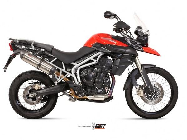 MIVV Triumph Auspuff Suono TIGER 800 ab 2011