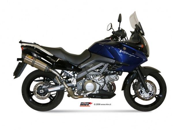 MIVV Suzuki Auspuff Suono DL V-STROM 1000 ab 2002 bis 2013