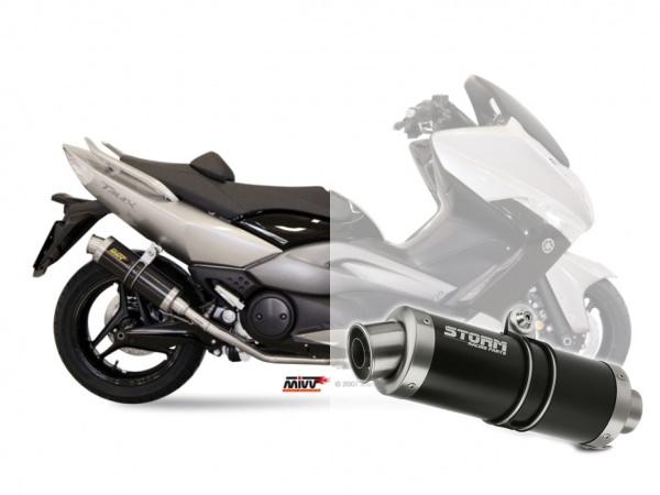 STORM GP Schwarz Yamaha T-MAX 500 Auspuff 2008 bis 2011