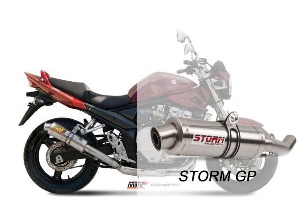 STORM GP Suzuki GSX 650 F Auspuff 2008 bis 2015