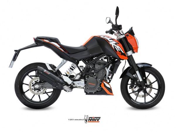 MIVV KTM Auspuff Suono 125 DUKE ab 2011