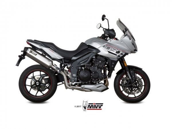 MIVV Triumph TIGER 1050 SPORT Auspuff Speed Edge ab 2017