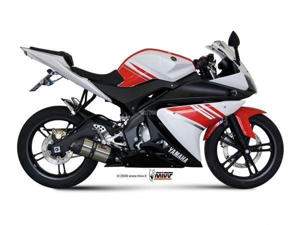 MIVV Yamaha Auspuff Suono YZF 125 ab 2008 bis 2013