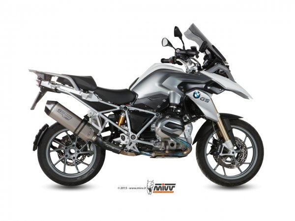 MIVV BMW Auspuff Speed Edge Gs Titan Edition R 1200 GS ab 2013 bis 2018