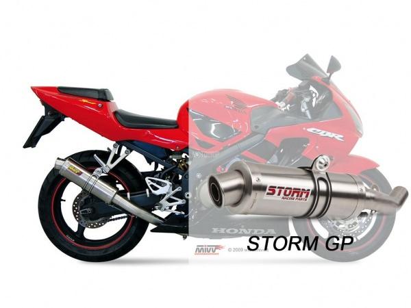 STORM GP Honda CBR 600 FS Auspuff 2001 bis 2003