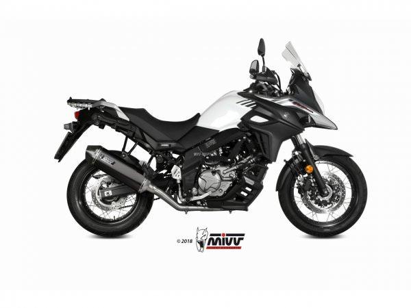 MIVV Suzuki DL V-STROM 650 Auspuff Speed Edge ab 2017