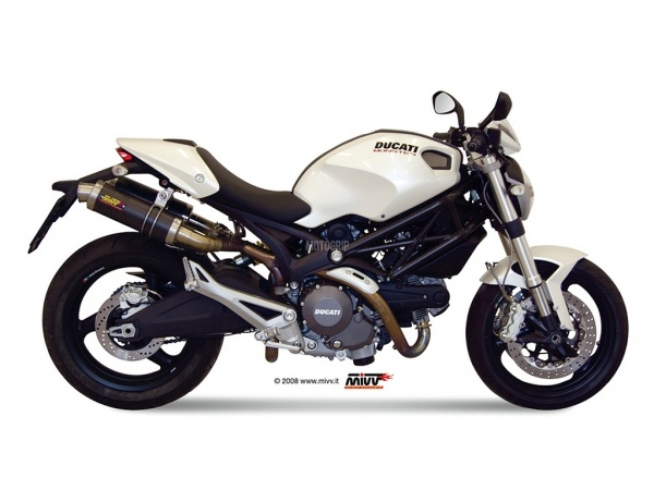 MIVV Ducati Auspuff GP MONSTER 696 ab 2008