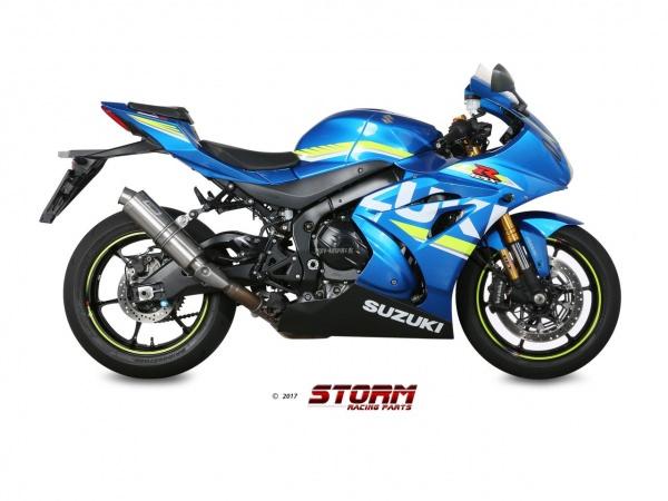STORM GP Suzuki GSX-R 1000 Auspuff ab 2017