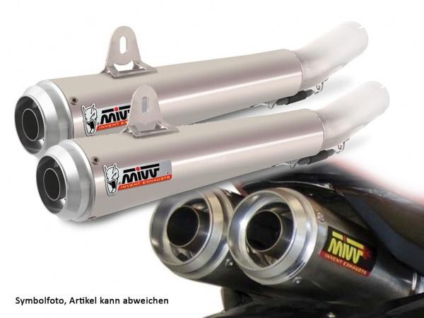 MIVV Honda Auspuff X-Cone Plus Underseat CBR 1000 RR ab 2006 bis 2007