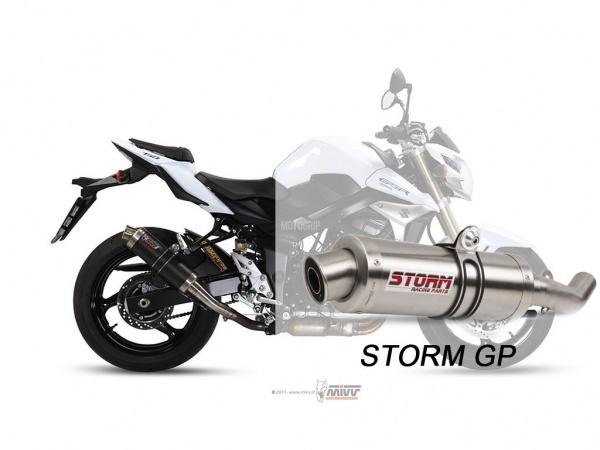 STORM GP Suzuki GSR 750 Auspuff 2011 bis 2016