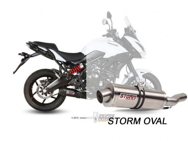 STORM Oval Kawasaki Versys 650 Auspuff ab 2015