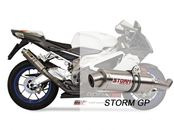 STORM Auspuff Aprilia TUONO Fighter 1000 GP ab 2006