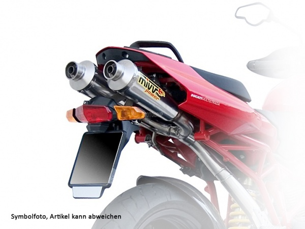 MIVV Ducati Auspuff X-Cone Underseat MULTISTRADA 1000 ab 2004