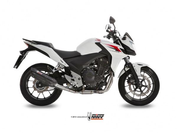 MIVV Honda Auspuff Suono CBR 500 R ab 2013