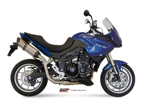 MIVV Triumph Auspuff Suono TIGER 1050 ab 2007 bis 2013