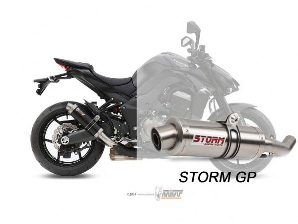 STORM GP Kawasaki Z 1000 SX Auspuff ab 2014