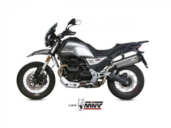 MIVV Moto Guzzi V85 TT Auspuff Speed Edge ab 2019