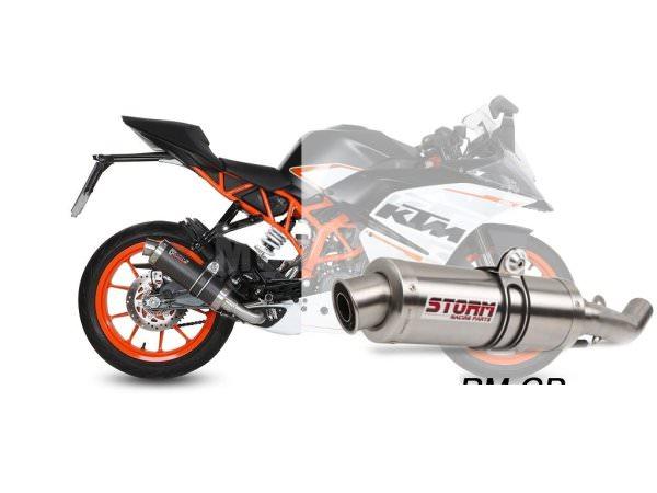 STORM GP KTM RC 390 Auspuff 2014 bis 2016