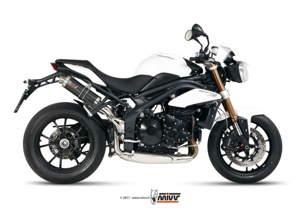 MIVV Triumph Auspuff GP SPEED TRIPLE ab 2011