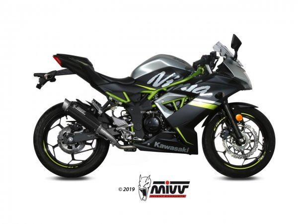 MIVV Kawasaki NINJA 125 Auspuff GP Pro ab 2019
