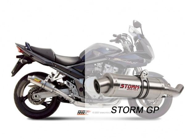 STORM GP Suzuki GSX 1250 FA Auspuff 2009 bis 2016