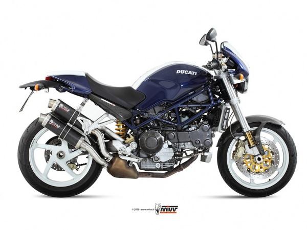 MIVV Ducati Auspuff GP MONSTER S2R 800 ab 2005