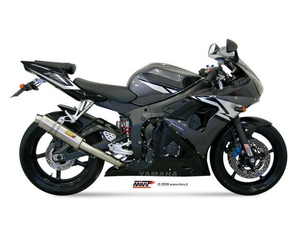 MIVV Yamaha Auspuff GP YZF 600 R6 ab 2003 bis 2005