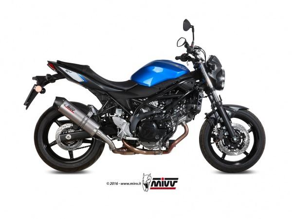 2016 Suzuki SV 650 Auspuff