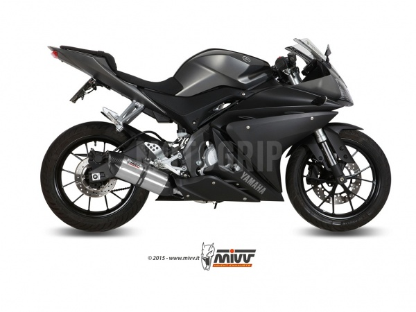 MIVV Yamaha Auspuff Suono YZF-R 125 ab 2014 bis 2018