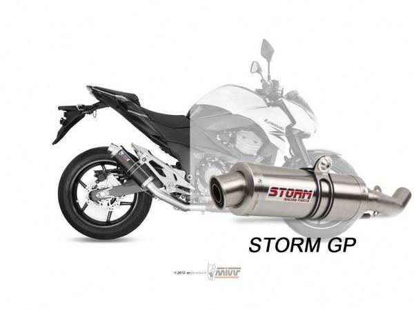 STORM GP Kawasaki Z 800 E Auspuff 2013 bis 2016