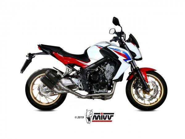 MIVV Honda CB 650 F Auspuff MK3 Komplettanlage 2014 bis 2018