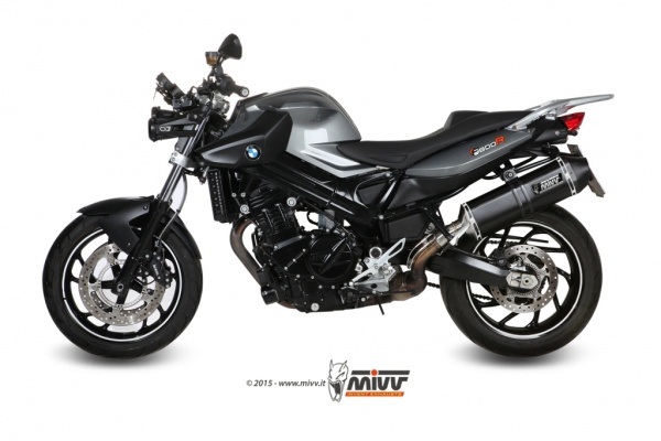 MIVV BMW Auspuff Speed Edge F 800 R ab 2009