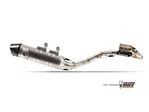 MIVV KTM Auspuff Oval SX-F 250 ab 2011 bis 2012