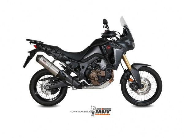 CRF 1000 L Africa Twin Auspuff