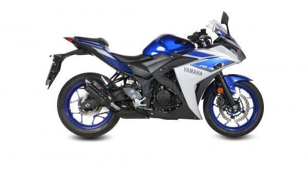 MIVV Yamaha Auspuff Suono YZF-R3 ab 2015